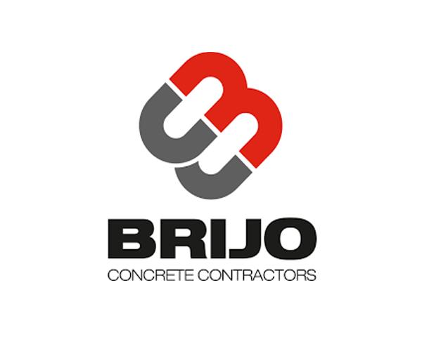 BRIJO-Concrete-Contractors-logodesign