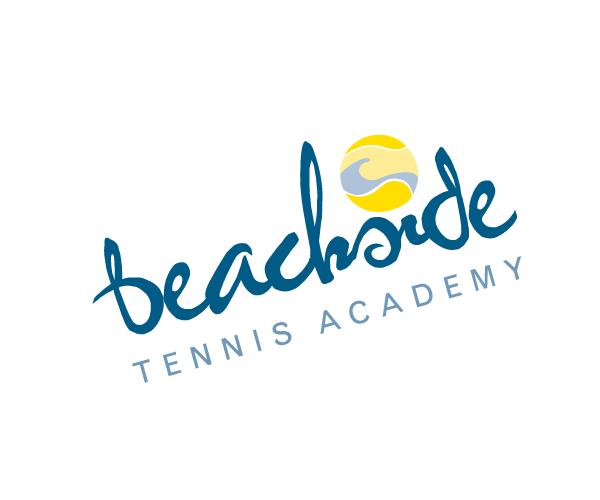Beachside-Tennis-Academy-logo-design