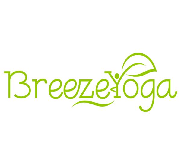 Breeze-Yoga-Studio-logo-design