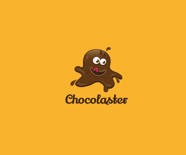 Chocolate-Monster-logo-design-free