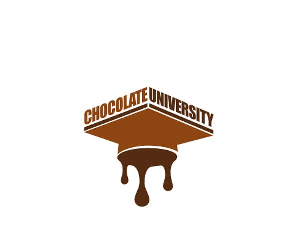Chocolate-University-logo-design