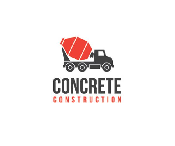 Concrete-Construction-logo-design