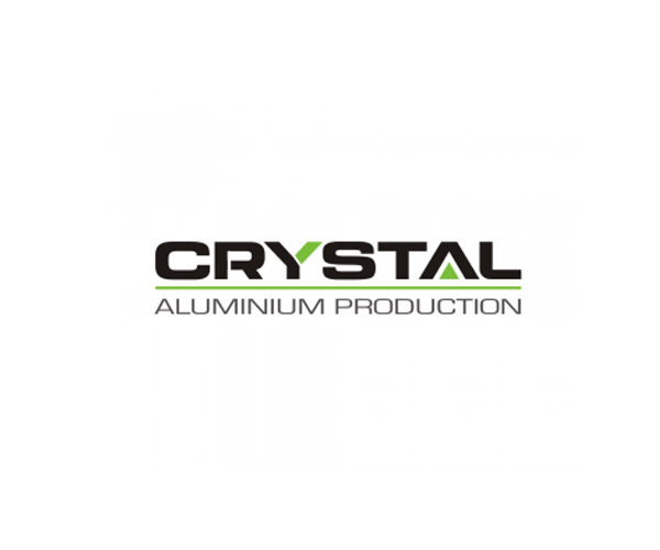 Crystal-Aluminium-company-logo-design