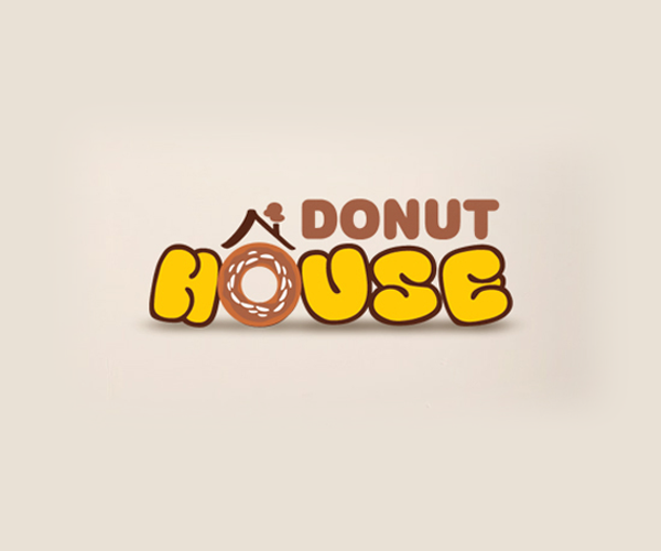 Donut-House-Logo-design