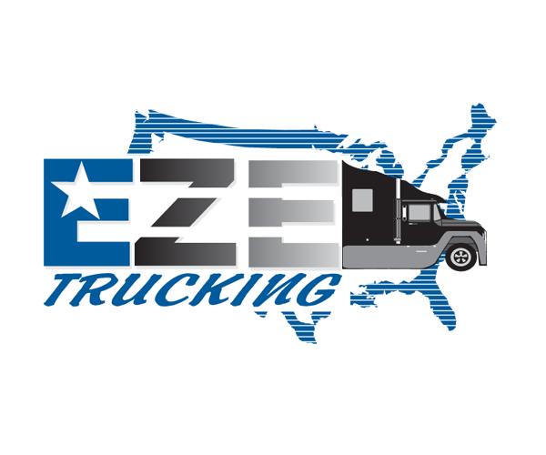 EZE-Trucking-Logo-design