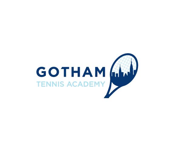 Gotham-Tennis-Academy-logo-design