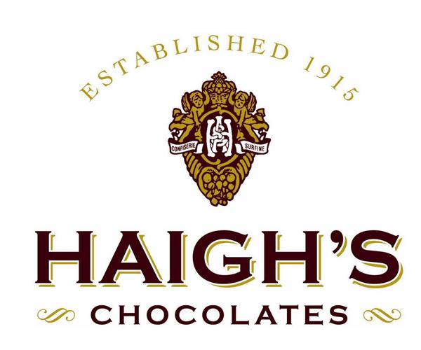 Haighs-Chocolates-Australia-logo-design