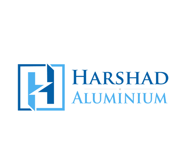 Harshad-Aluminium-logo-design