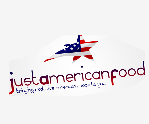 Just-American-Food-logo-design