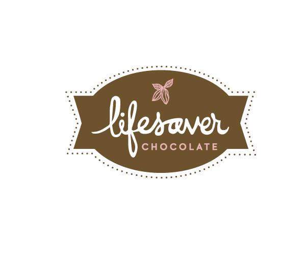 LIFESAVER-CHOCOLATES-logo-design