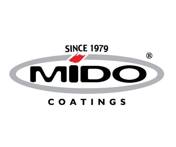 MIDO-Coatings-logo-design