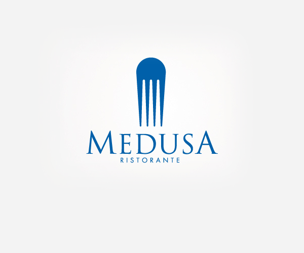 Medusa-Ristorante-logo-design