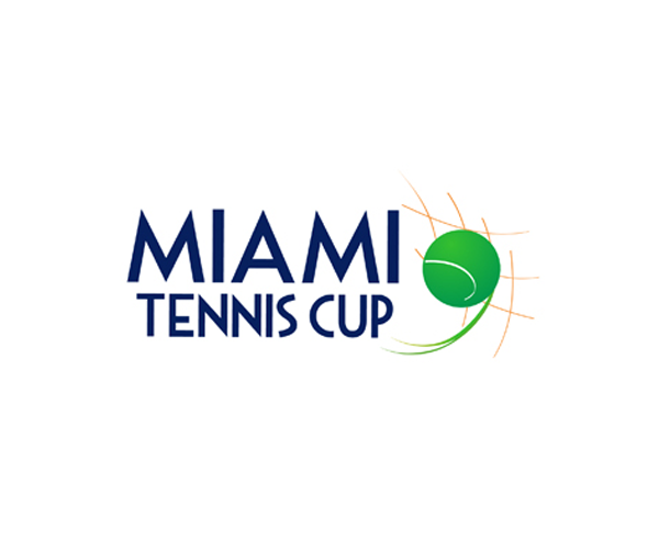 Miami-Tennis-Cup-logo-design