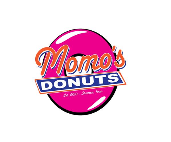 Momos-Donuts-Logo-design