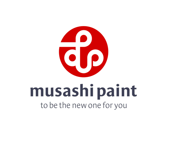 Musashi-paint-company-logo-design-free