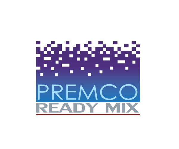 PREMCO-Ready-Mix-logo-design