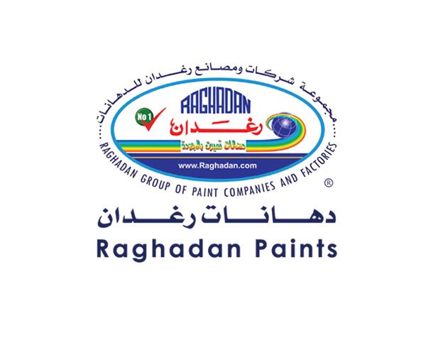 Raghadan-Paints-in-saudi-arabia-logo-design