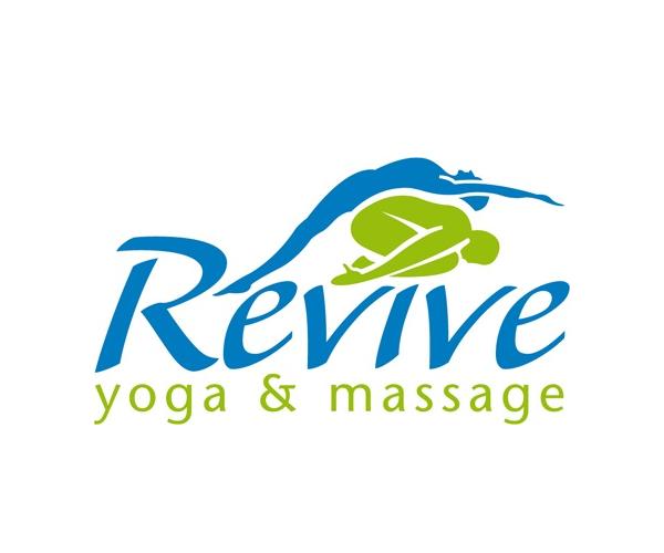 Revive-Yoga-&-Massage-logo-design