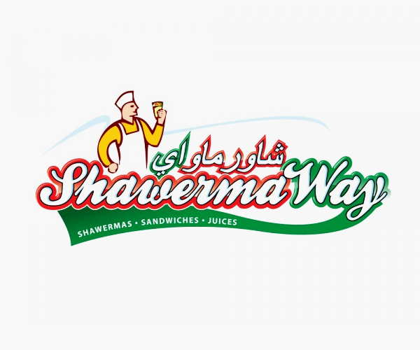 Shawerma-Way-Fast-Food-Logo-design