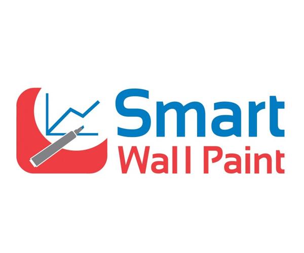 Smart-Wall-Paint-logo-design