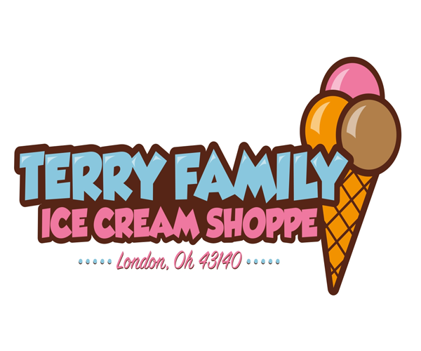 TERRY-FAMILY-ice-cream-shop-logo