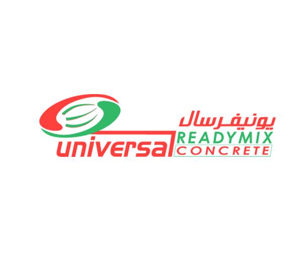 Universal-Ready-mix-Concrete-logo-design