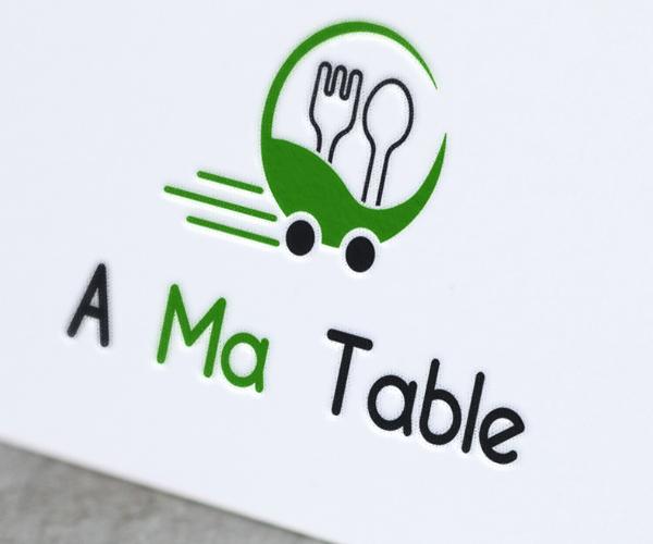 a-ma-table-logo-design