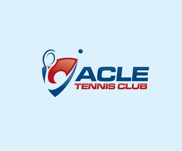 acle-tennis-club-logo-design