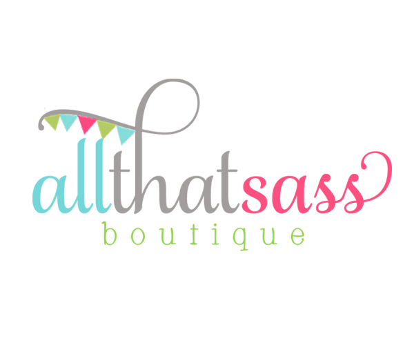all-that-sass-boutique-logo-design