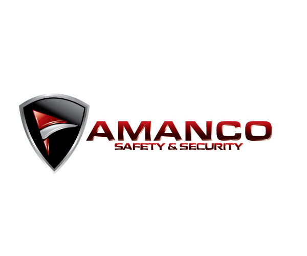 amanco-safety-and-security-logo-design