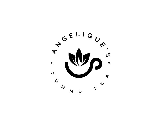 angeliques-tummy-tea-logo-designer