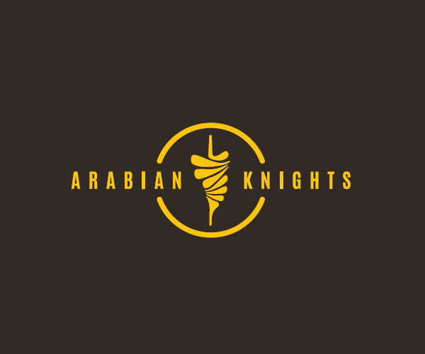 arabian-knights-logo-design