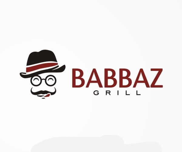 babbaz-grill-logo-design-for-restaurant