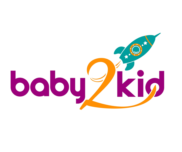baby-2-kids-logo-design