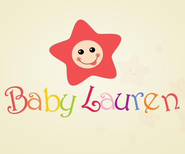 baby-lauren-logo-design