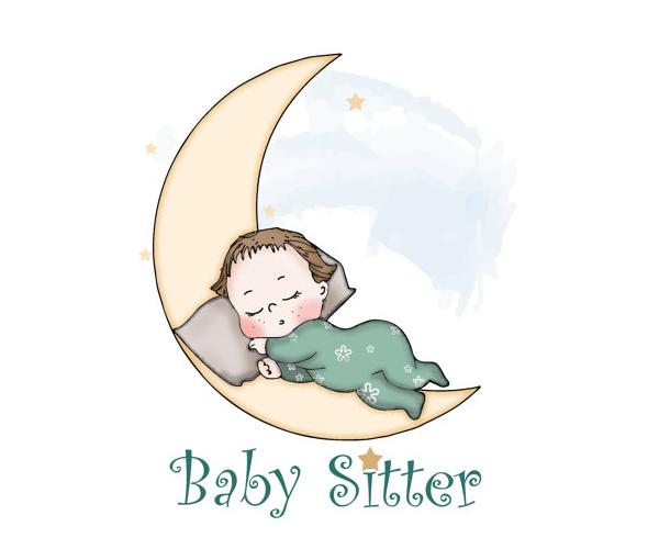 baby-sitter-logo-design-creative