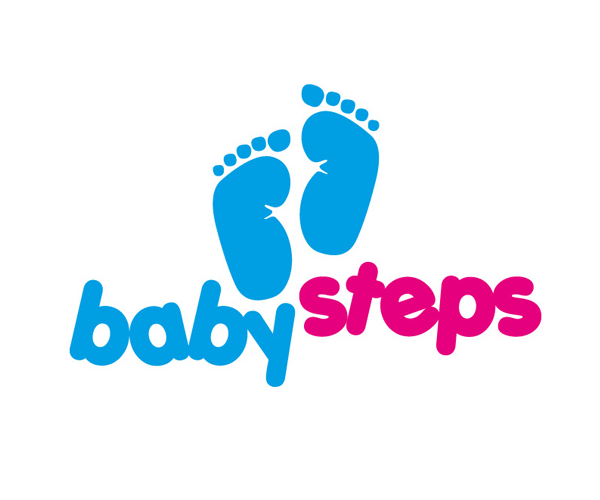 baby-steps-logo-design