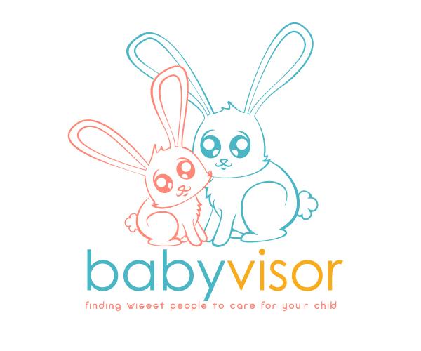 baby-visor-logo-design