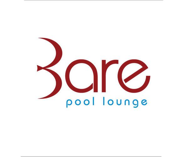 bare-pool-lounge-logo-design