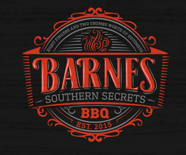barnes-bbq-restaurant-logo-design