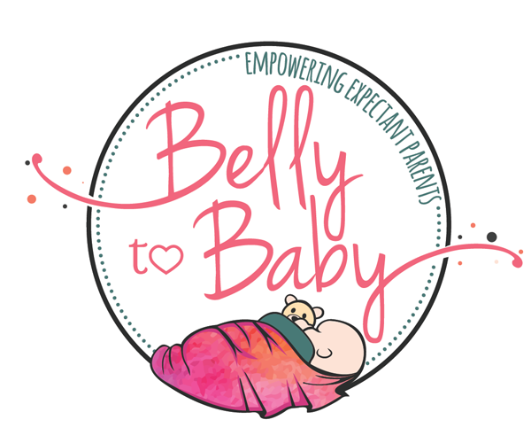 belly-to-baby-products-logo-design