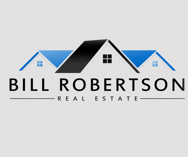 billl-robertson-real-estate-logo-design
