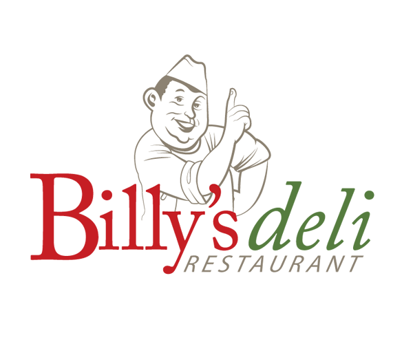 billys-deli-restaurant-logo-design