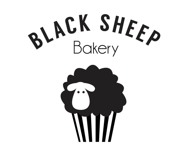 black-sheep-bakery-logo-design