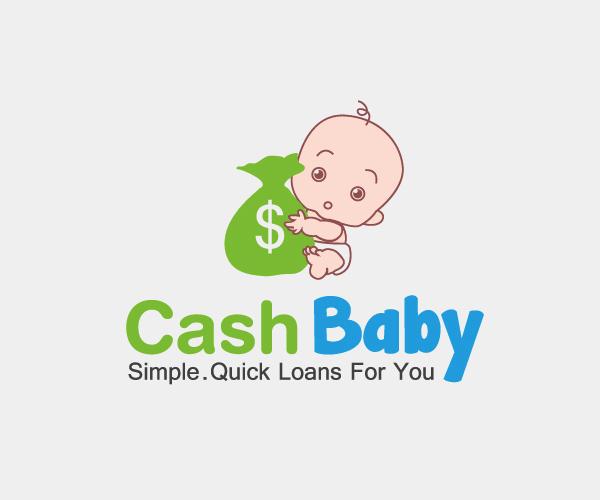 cash-baby-loans-logo-design
