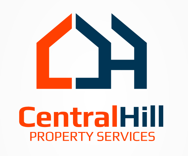 central-hill-property-logo-design
