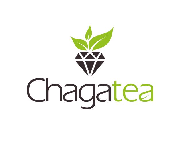 chaga-tea-logo-design-free