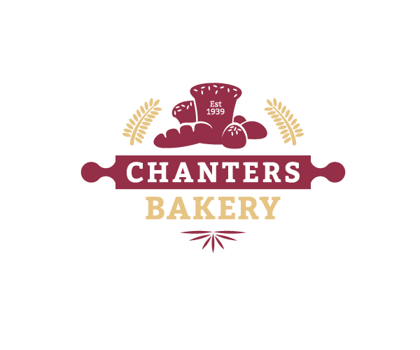 chanters-bakery-logo-design