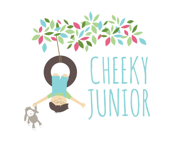 cheeky-junior-baby-products-design-logo