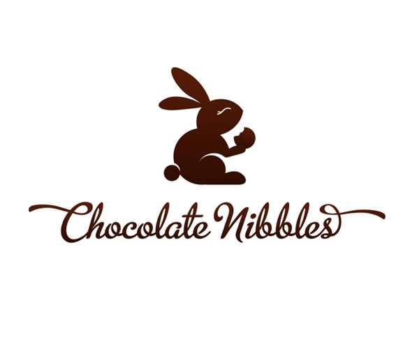 chocolate-nibbles-logo-design